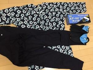 鯉口シャツ、股引、足袋